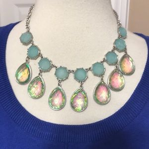 Jewelry - Iridescent Dangle Medallions Necklace